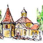 Herrasmiehiä Luopioisten kirkolla