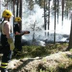 Maasto paloi Kuohenmaalla