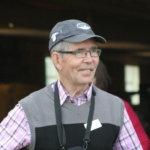 Pälkäneen entinen kirkkoherra Jaakko Uronen poikkesi perinnepäivässä.