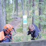 Vehoniemen suojelualueen rajat selviksi