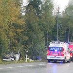 Onnettomuuksia tieliikenteessä