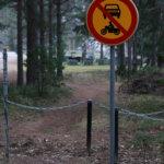 Mopo- ja pyöräliikenne häiritsee hautausmaalla