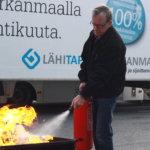 Vakuutusyhtiö tarkasti kesäkuussa sammuttimia myös Pälkäneellä ja Kangasalla – lämpötilan vaihtelut vaikuttavat sammuttimen toimintakykyyn