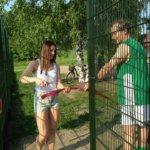Vilpeilän tenniskenttä vihittiin käyttöön
