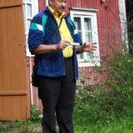 Hannu Uotila kertoi Alkmanin talon traagisista vaiheista.