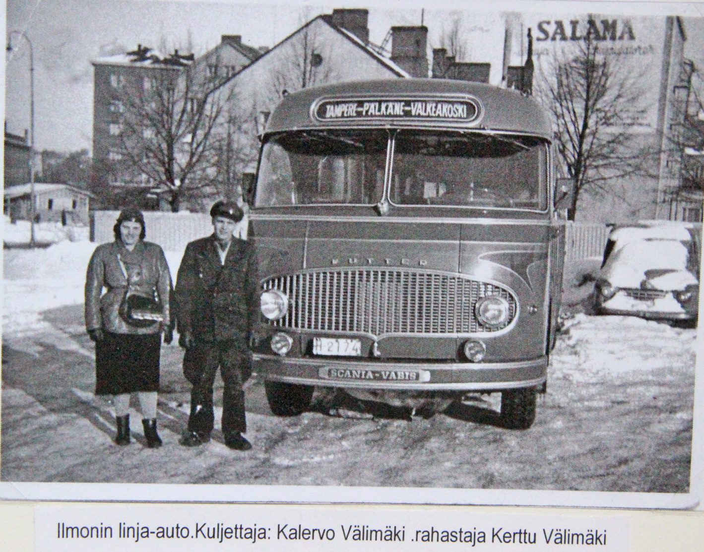 Ilmolan linja-auto - Sydän-Hämeen Lehti