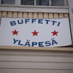 Perinteikäs Buffetti Yläpesä palveli Haanloukkaassa niin kuin vanhaan hyvään aikaan.