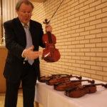 Simo Vuoristo oli valinnut viisi Jaakko Mäkelän soitinta sunnuntaiseen konserttiin.
