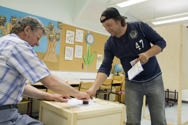 Eurovaali äänestys