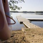 Kanadanhanhet sotkevat Luopioisten uimarantaa