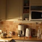 Tältä näyttää keittiö.