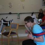 Liikuntaluennolla voi tutustua seniorikuntosaliin