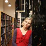 Kirjailija Anni Kytömäki Sahalahdella