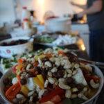 Kansalaistaitoluento ruoka-aiheista Mikkolan navetalla