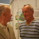 Jukka Lindfors ja Jaakko Tuokko tapasivat Aitoon osastolla.
