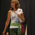Annikki Westman loihti kaikkien kesäkiireidensä keskellä upean osaston ja muotinäytöksen Aitooseen.