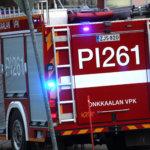 Rekan hytti tuhoutui tulipalossa Aapiskukon pihassa – palo sai ilmeisesti alkunsa lämmittimestä
