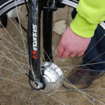 Boost Biken moottori sijaitsee pyörän vanteissa.