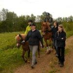Hevosen selässä ollaan omassa maailmassa