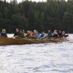 Sappeen kirkkovene Ainon uutta talasta esitellään sunnuntaina. Kävijät pääsevät myös airon varteen.