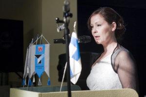 Elinkeinoasiamies Jaana Koivisto-Virtanen kertoi valmisteilla olevasta elinvoimastrategiasta.