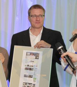 Tommi Liljedahl pokkasi Suurilla lehtipäivillä palkinnon parhaista nettisivuista.