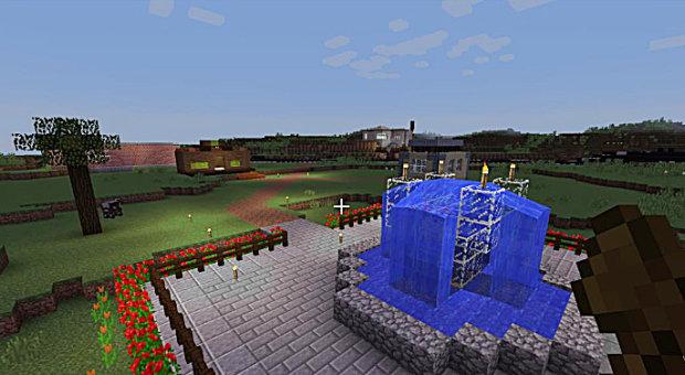 """Mine-maailma ilman pelkoa zombeista. Lamminrahka-peli on avoin kaikille asiasta kiinnostuneille pelaajille, joilla on Minecraft-tunnukset. VirtuaaliLamminrahkaan pääsee kirjoittamalla Minecraft-pelissä """"add server"""" -kohtaan IP-osoitteen 151.80.2.181:25565. Ohjeet pelin pelaamiseen ja lisätietoa pelistä löytyvät osoitteesta www.lamminrahka.fi/lamminrahkapeli/."""