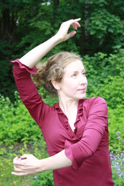 Anu Silvennoinen on toiminut myös Tampereen Flamencoviikon taiteellisena johtajana.