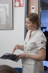Helena Väisänen keräsi kiitosta uudesta rakennusjärjestyksestä.