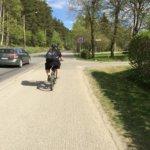 Koulumatka Kangasalta Aitooseen pyörällä