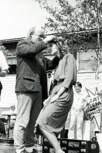 Uransa huipulla ollut Juice Leskinen kruunasi Miss Kirkastuksen.