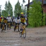 Team Rynkeby Tampere harjoitteli Sappeessa Pariisia varten