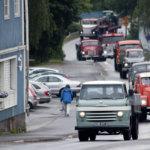 Kuopion keikka toi vanhat autot raitille