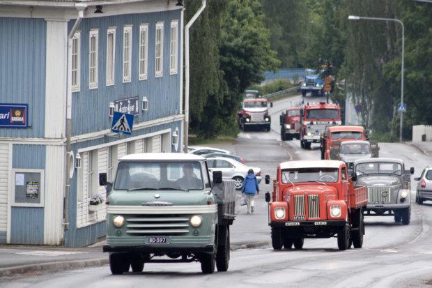 Kuopion keikka toi vanhat autot raitille - Sydän-Hämeen Lehti
