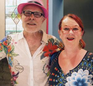 Aslak Christiansson ja Leena Vilenius avasivat Aslak and the Eskimos -klubin kolmetoista vuotta sitten. Klubi on vakiinnuttanut asemansa Kuohijoen kesässä.