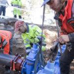 Vesitornin sulkuventtiilit uusittiin viime hetkellä