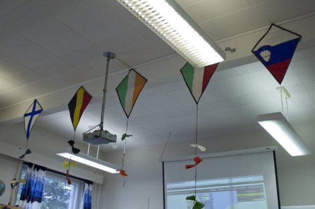 Raikun ja Huutijärven koulut saivat vieraita Belgiasta, Irlannista, Italiasta, Saksasta ja Sloveniasta.