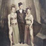 Finnish Blonde Burlesque Troupe. Kuva: Atelieri O. Haapala.