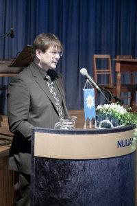 – Ilman kolmatta sektoria kuntalaisilta jää paljon saamatta, Eero Laesterä kiitti kunnan 150-vuotisjuhlan järjestänyttä Pälkäne-Seuraa sekä muita aikaansaavia yhdistyksiä.