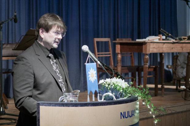 Eero Laesterä listasi Pälkäneen vahvuuksiksi vapaa-ajan asukkaat, erittäin vahvan kolmannen sektorin ja syventyneen yhteistyön seurakunnan kanssa.