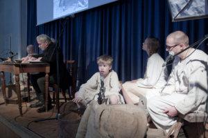 Kuntakokouskuvaelma kertoi Pälkäneen alkuvaiheista myös rahvaan silmin nähtynä.