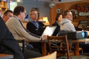 Pälkäneen ja Luopioisten yrittäjäyhdistysten sekä kunnan aamukahvitilaisuudessa palkittiin tuttuun tapaan kuukauden yrittäjä. Kahvit juotiin tällä kertaa EloTähkässä Rautajärvellä.