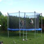 Talviaika, kesäaika, trampoliiniaika