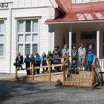 Partiolaiset viihtyvät Laitikkalassa