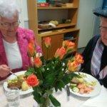 Ikäpisteessä vietettiin kevätjuhlaa