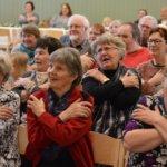 Sahalahden väki juhli iloisesti seurakunnan merkkivuotta