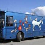 Kotikuja-sovellus auttaa kirjastoauton käyttäjää