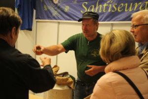 Sahtiseura oli mukana vuoden 2014 näyttelyssä.