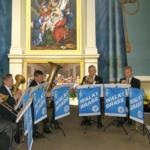 Walki Brass esiintyy Luopioisten kirkossa