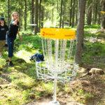 Frisbeegolf-viikonloppu houkuttelee Sappeeseen